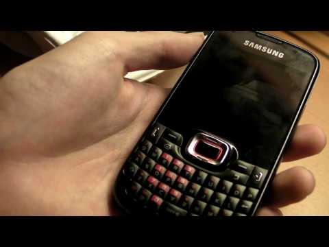 Samsung Omnia Pro B7330 Unbox