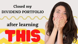 Why I closed mỳ Dividend Portfolio | How much I'd need to invest to get Passive Income of Dividends