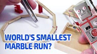 Kuglebahn (Marble Run) Working Miniature by Liebe