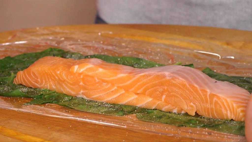saumon de norv 232 ge aux 233 pinards en cro 251 te de p 226 te feuillet 233 e avec clouet
