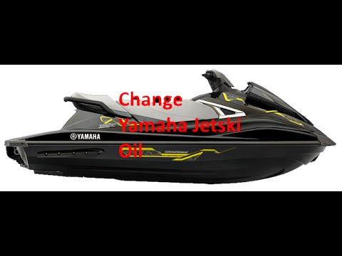 Yamaha Vxdeluxe Oil Change