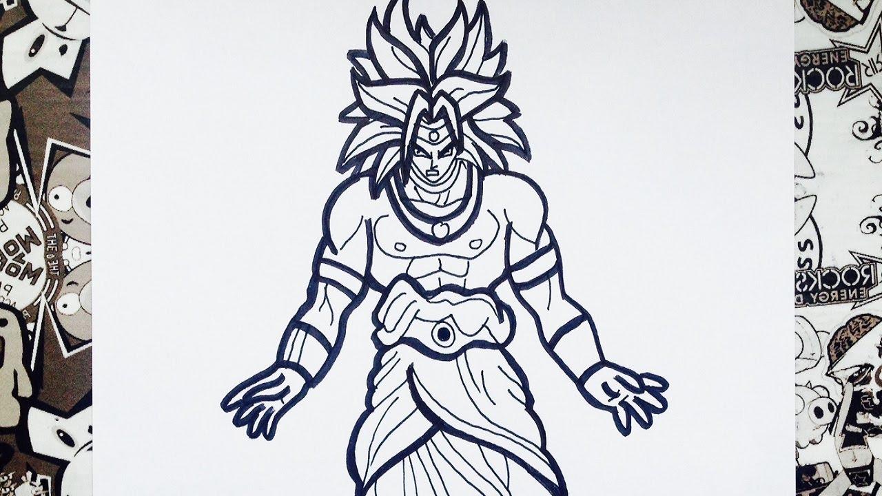 Goku Ssj4 Colorear