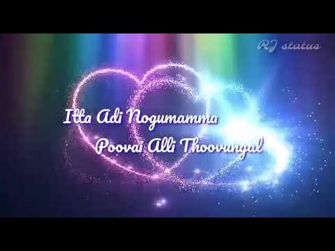 Meenamma meenamma song lyrics | rajadhi raja | Tamil whatsapp status | RJ status