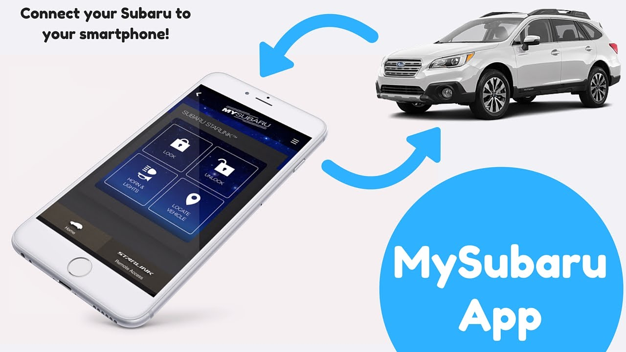 Mysubaru App Overview Youtube