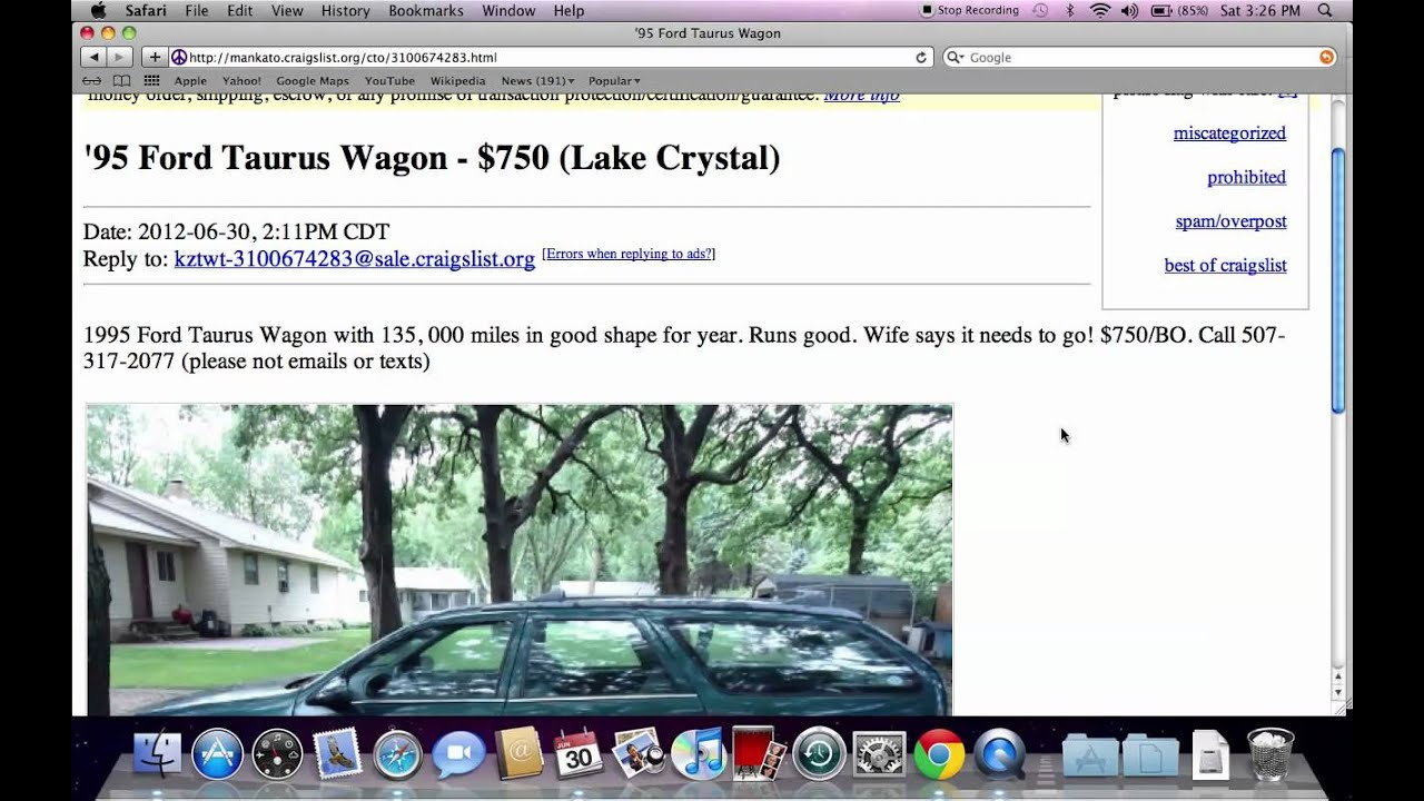 Craigslist Mankato Minnesota Used Cars And Trucks Private For Sale