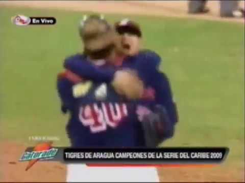 Out Final Tigres de Aragua Campeones del Caribe