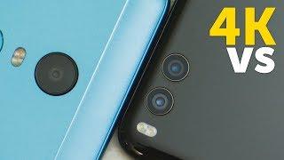 Камеры Xiaomi Redmi 5 Plus vs Mi Note 3 сравнение видео 4K (Redmi 5 Plus vs Mi Note 3 camera test)