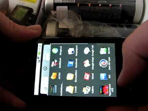 Samsung i5700 Galaxy Spica menu + iGO