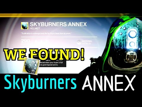 destiny 2 skyburners oath how to get