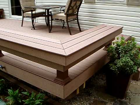 My timbertech floorizon tongue and groove composite - Tongue and groove exterior decking ...