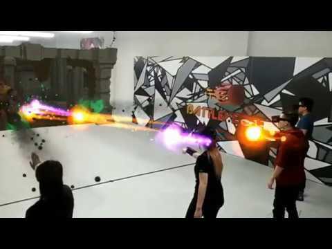 Couple vs Couple! Augmented Reality Battle Arena