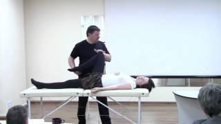 Чикуров, лечение таза, мягкие мануальные техники.