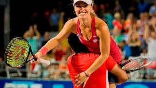 Leander Paes & Martina Hingis 2013 Mixed Doubles Highlights