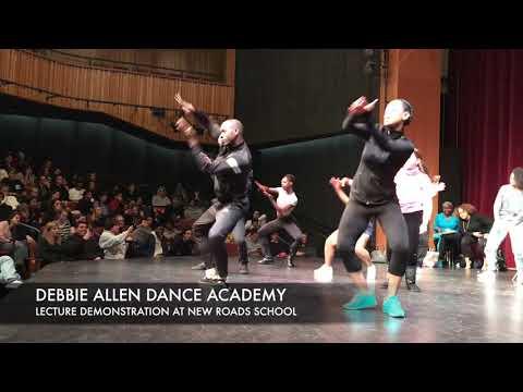 DEBBIE ALLEN DANCE ACADEMY - Lecture Demonstration - New Roads School