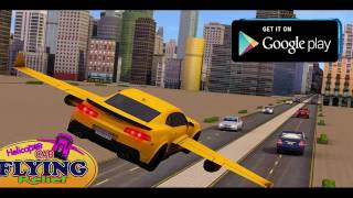 Helicopter Car Flying Relief Drive Simulator HD 3D 2017 Android Gameplay