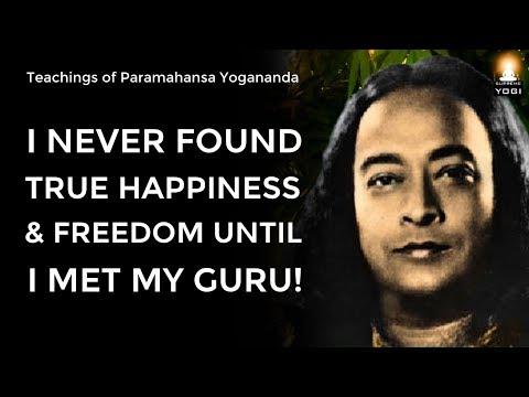 Never Underestimate The Role Of A Guru In Your Life Sri Paramahansa Yogananda Youtube