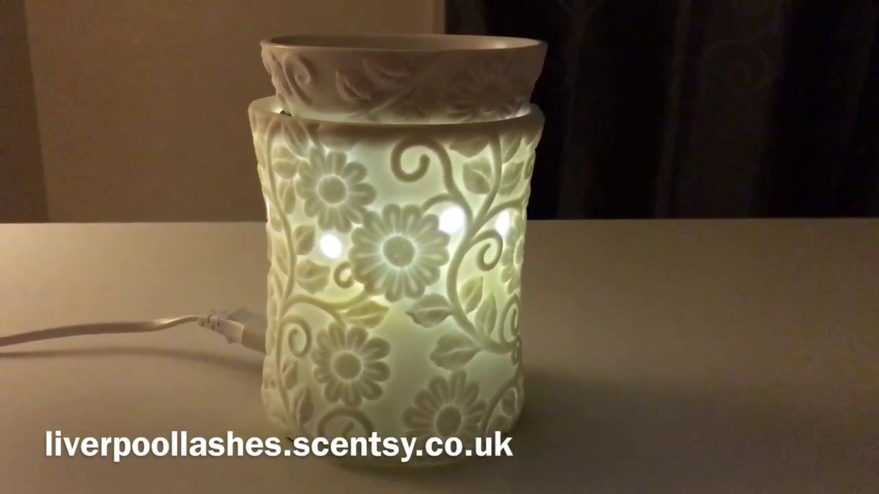 Introducing Scentsy Flower Vine Warmer Liverpoollashes Youtube