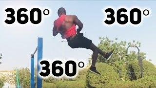 Градусы на турнике / Как накручивать 360 по 10 раз?