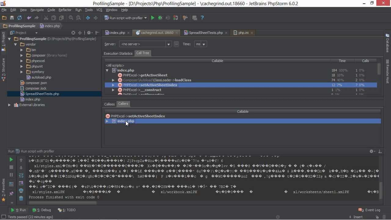PHP Applications Profiling in PhpStorm - PhpStorm Video Tutorial