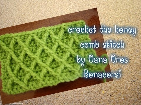 Crochet The Diamond Stitch By Oana Youtube