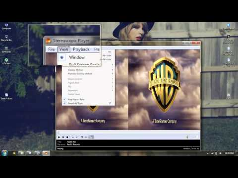 How To Watch 3D Using Stereoscopic Player
