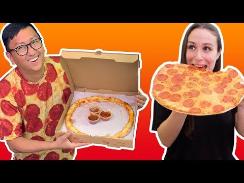 PRANKING People Delivering CRUST ONLY Pizza