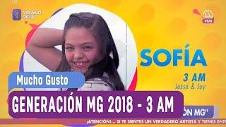 Generación MG 2018 - Sofía - 3 AM