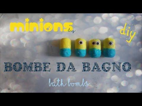 Come fare le bombe da bagno fai da te minion senza acido - Come fare bombe da bagno ...