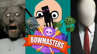 Monster School : BOW MASTER CHALLENGE - Minecraft Animation
