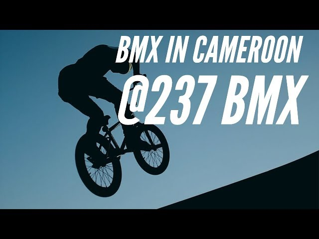 Meet The First Generation of BMX In Cameroon