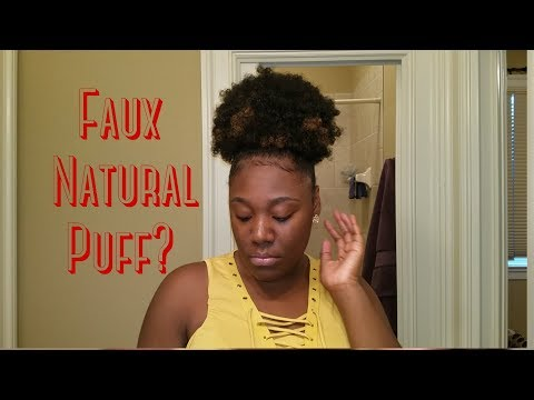 Faux Natural Puff | 2 for $13?! | Afro Beauty Puff Wiglet