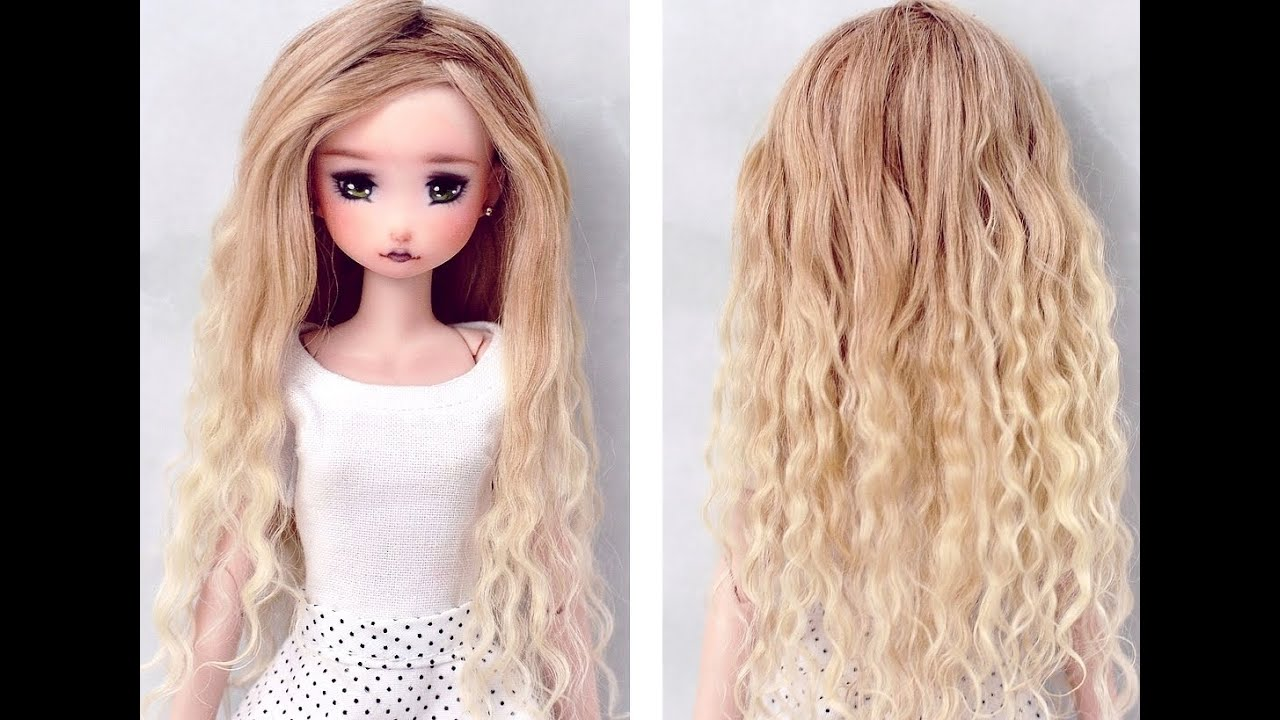 OMBRE DOLL HAIR Tutorial YouTube