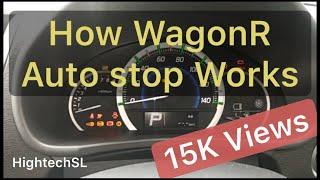 Suzuki Wagonr 2014 2015 2016 Engine Auto stop