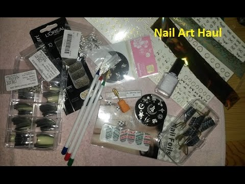 Bornpretty Store Review Haul Nail Art Supply Haul From Amazon And