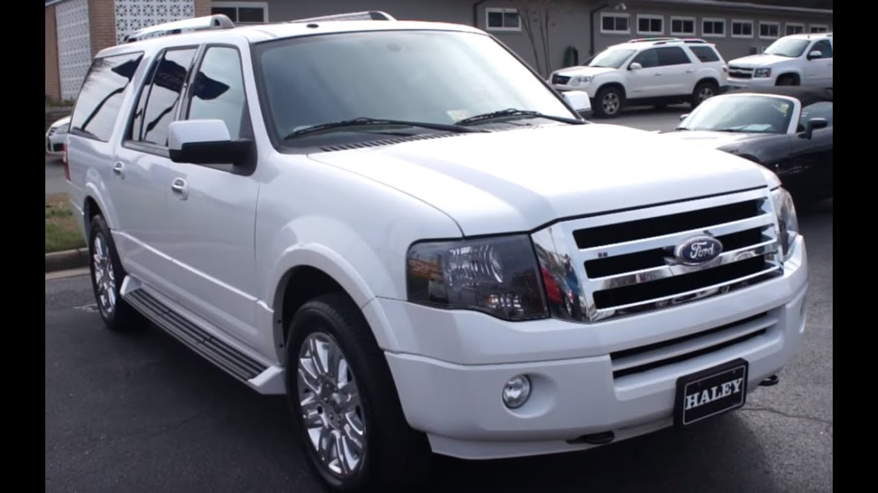 Ford Expedition El >> 2011 Ford Expedition EL Limited Walkaround, Start up, Tour ...