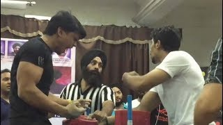 DELHI ARM WRESTLING 2017 - AKASH KUMAR (AKA WRIST HUNTER) ALL BOUTS