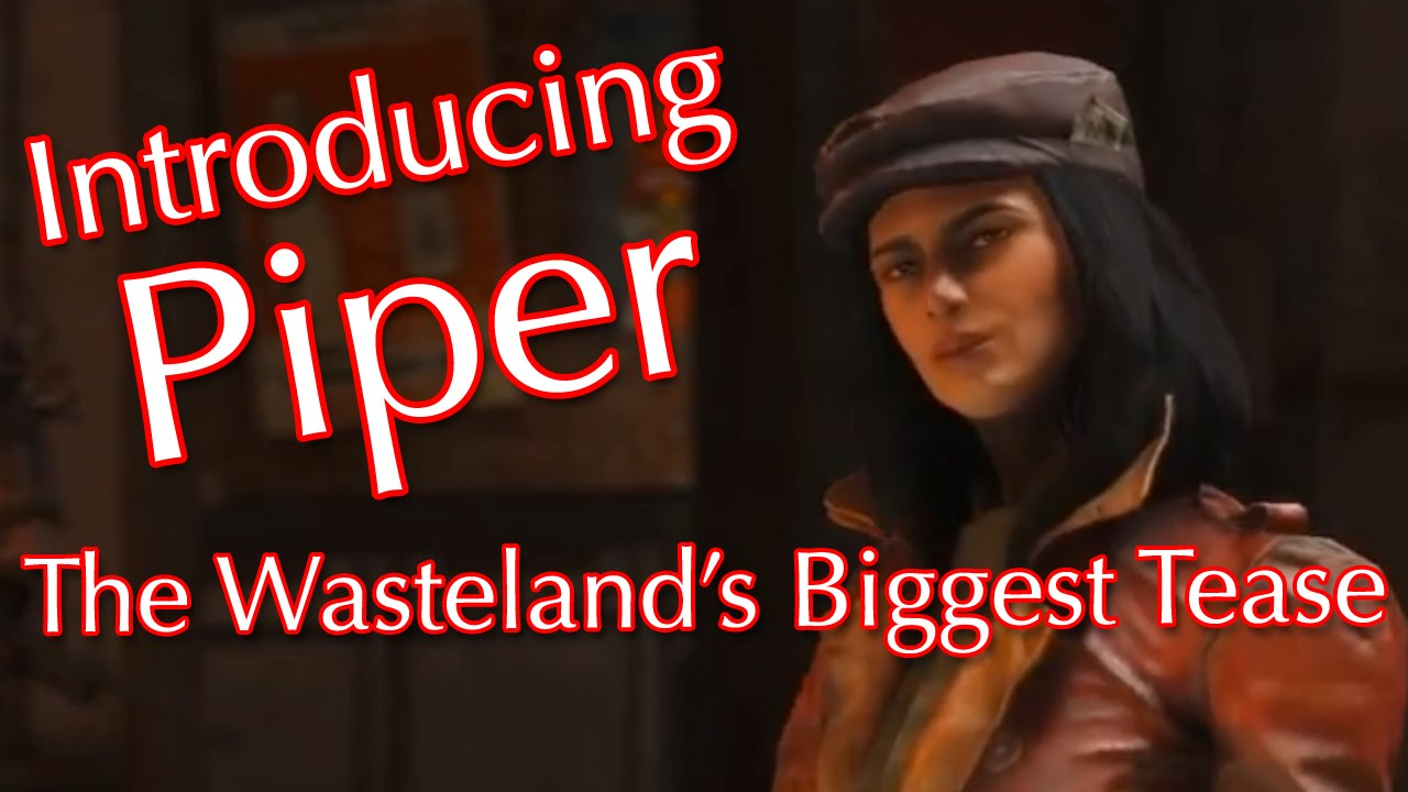 fallout 4 how to make piper sexy