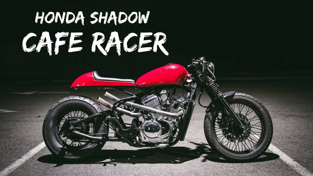 lnsplt build off 2016 winner | honda shadow vlx 600 cafe racer