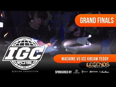 [IGC 2015] Ice Kream Teddy vs Machine - Legends Grand Finals Match [EmazingLights.com]