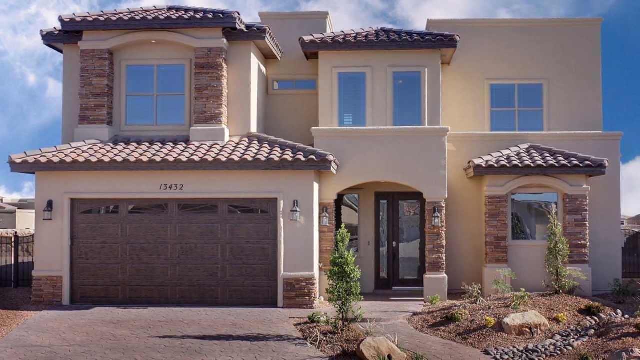 Bella Vista Custom Homes El Paso Tx Home Builder Youtube