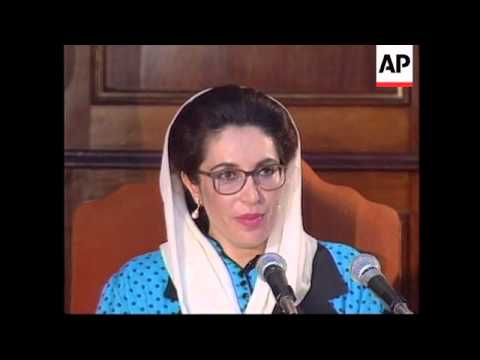PHILIPPINES: BENAZIR BHUTTO CALLS FOR STABILITY IN AFGHANISTAN