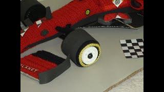 Formel 1 Auto häkeln Teil # 1
