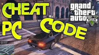 GTA V PC - ALL CHEAT CODES (HOW TO SPAWN) - GTA 5 GAMEPLAY CHEAT CODES
