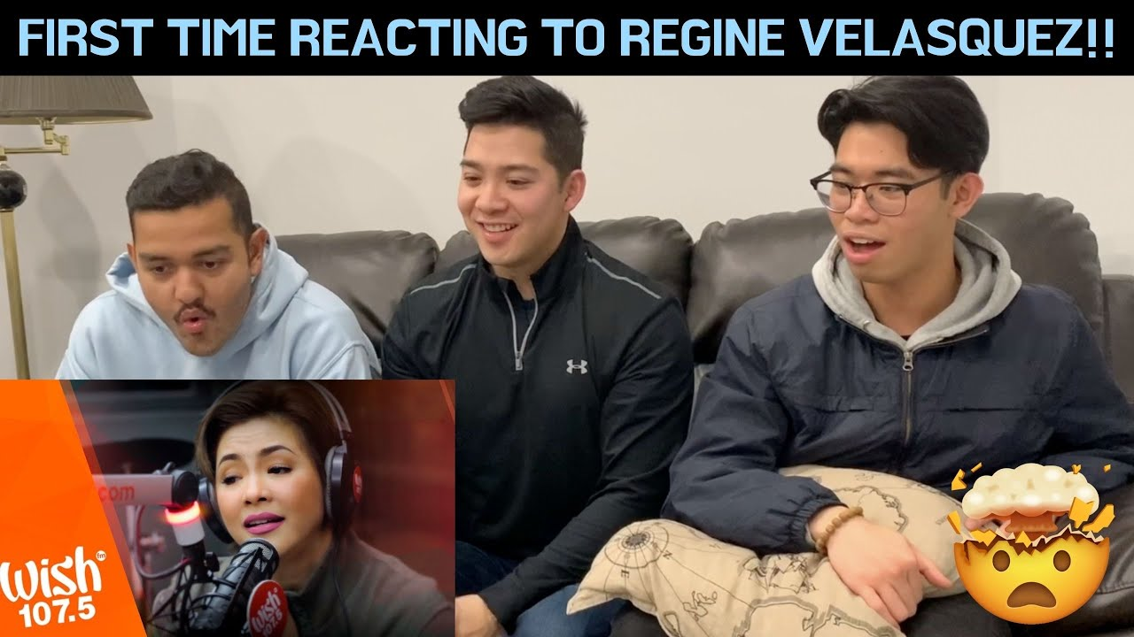 "CANADIANS REACT TO Regine Velasquez-Alcasid sings ""Araw-Gabi"" LIVE on Wish 107.5 Bus"