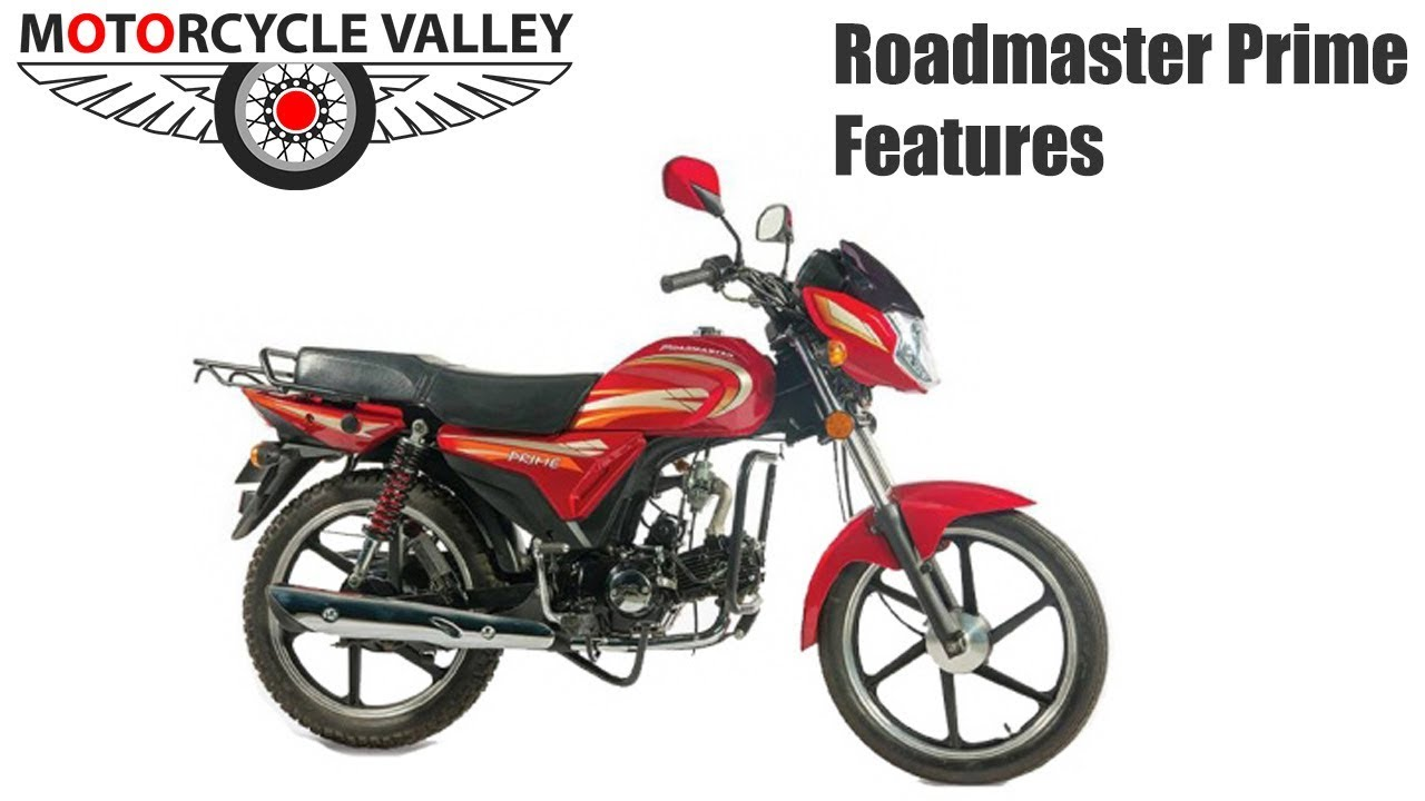 Roadmaster Prime 80cc Motorcycle Features