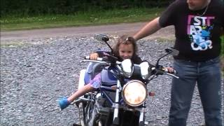 moto de ben et les enfants