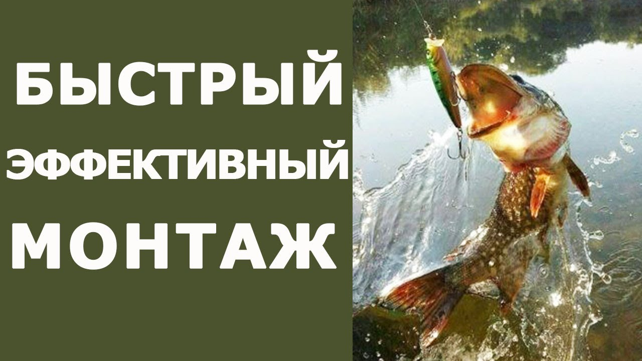 Простой монтаж который спас не одну рыбалку! Монтаж на щуку и окуня