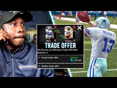 MADDEN MOBILE 20 SEASON MODE | TRADING ZEKE FOR OBJ! Gameplay Ep. 2