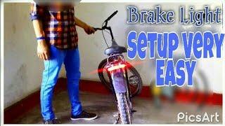 Brake Light for Cycle .Brake Indicator...
