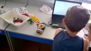 Первый урок Lego Wedo